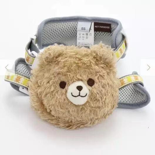可爱小熊背包胸背带