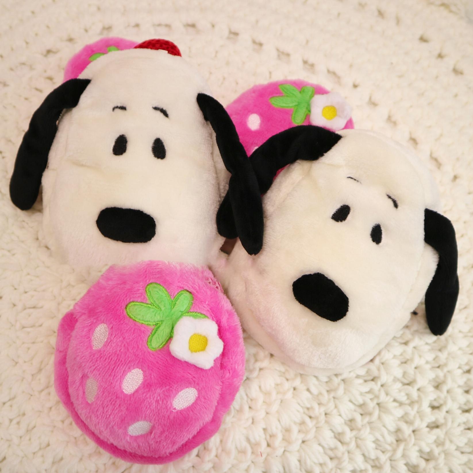 Snoopy  Strawberry Dog Harness