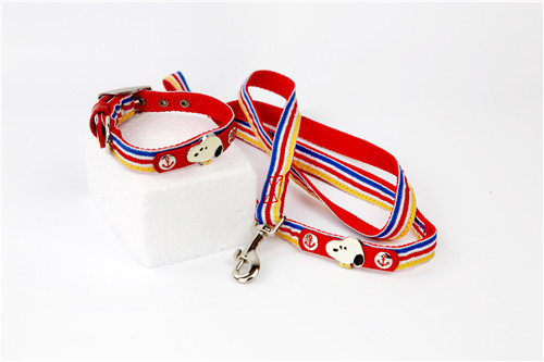Snoopy Ribbon Nylon Dog Leash
