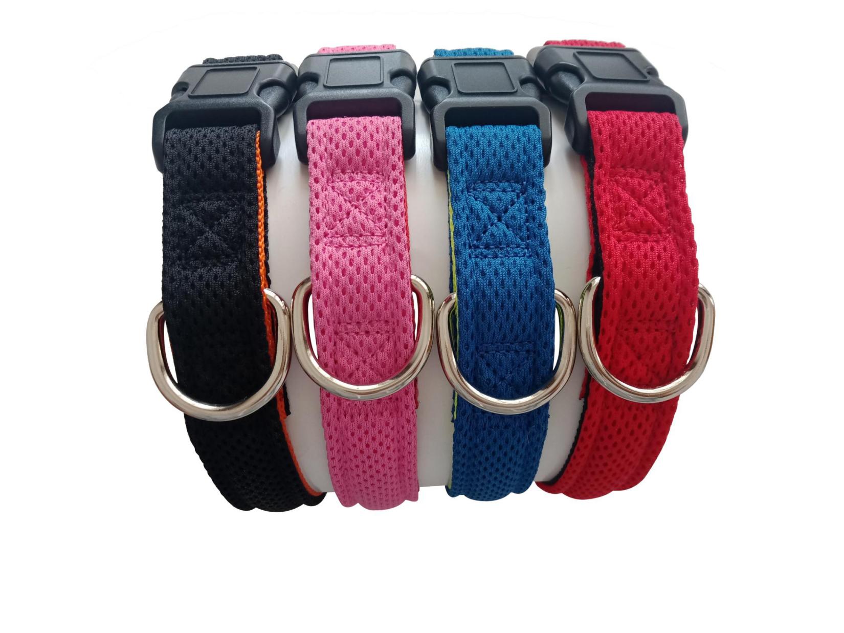 Fishnet dog collar